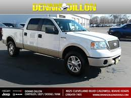 100 2007 Ford Truck PreOwned F150 Lariat Crew Cab Pickup In Boise 4K0062A