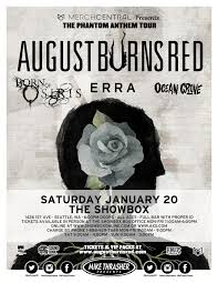 August Burns Red – The Phantom Anthem Tour January 20