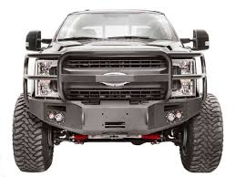 100 Front Truck Bumpers 20172019 F250 F350 Fab Fours Premium WinchReady Bumper