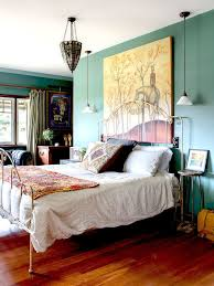 House Tour How To Mix Global And Vintage Pieces Make It Work Yellow Bedroom DecorationsEclectic