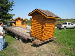 Mule Shed Mover Dealers by Trophy Amish Cabins Llc Delivery