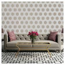 Devine Color Beehive Peel Stick Wallpaper