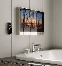 ocea pro bathroom television with smart tv with