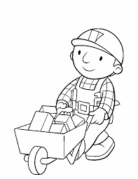 Best Solutions Of Bob The Builder Coloring Sheet 2017 For Job Summary