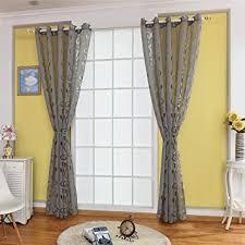urijk 100cmx250cm transparent gardine voile vorhang blume muster dekoschal mit ösen fenster dekoration schlafenschal für wohnzimmer schlafzimmer
