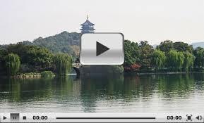 lake hangzhou xi hu zhejiang china