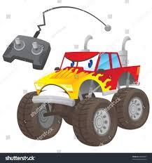 100 Dinosaur Monster Truck Vector RC Stock Vector Royalty Free 45886807
