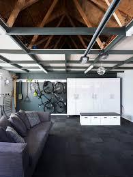 northcote garage project modern wohnzimmer auckland