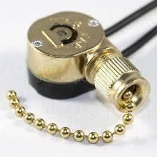 zing ear ze 109m pull chain switch brass for ceiling fan light
