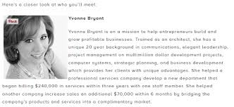 Yvonne Bryant Biography Up Global Breckenridge Startup Weekend Example
