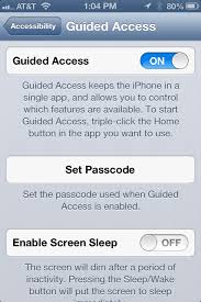 Turn on Kid s Mode Guided Access on your iPhone iPad Mini and