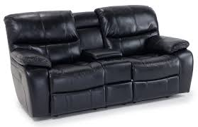 avenger power reclining console loveseat bob s discount furniture