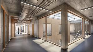 100 In Situ Architecture Visualization Office Building NRS INSITU