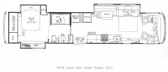 Travel Trailer Floor Plans With Bunk Beds by 2015 Newmar Dutch Star What U0027s New Steinbring Motorcoach