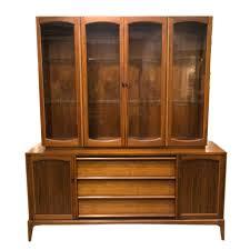 Mid Century Modern China Cabinet Lane Rhythm Collection
