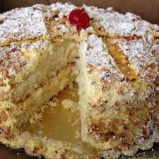 Burnt Almond Cake from Peter s Bakery objects