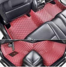 Diamond Floor Mats Maroon Jeep Dreamcarz1