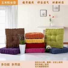 möbel bunt dicker kordsamt stuhlkissen sitzkissen