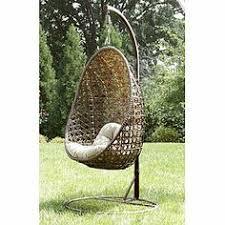 Ty Pennington Patio Furniture Mayfield by Outdoor Hängesessel Aus Geflecht Mit Ständer Outdoor Möbel Ideen