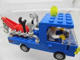 LEGO 6656 City Tow Truck Breakdown Repair Truck Town Classic System ...