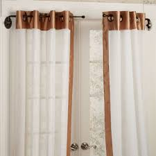144 To 240 Inch Adjustable Curtain Rod by Magnetic Curtain Rods Full Image For Magnetic Curtain Rods For