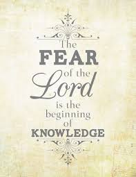 Proverbs 17 The Fear Of Lord Is Beginning Knowledge