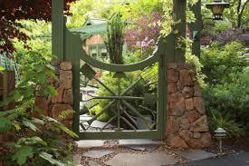 Vegetable Garden Fence Gate Photo