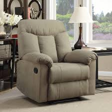 Wall Saver Reclining Couch by Prolounger Wall Hugger Microfiber Montero Back Recliner Chair