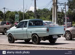 100 Mazda Mini Truck Chiangmai Thailand September 21 2018 Private Car Family