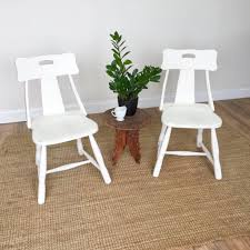 100 Dining Chairs Painted Wood Small Furniture Vintage Home Decor