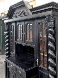 antikes buffet danziger barock monumentaler schrank