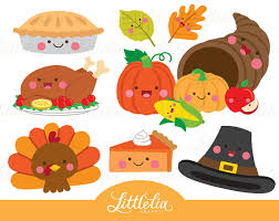 Thanksgiving kawaii thanksgiving clipart