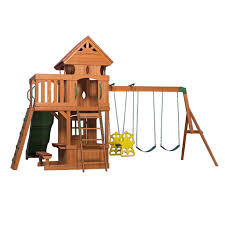 Monterey Wooden Swing Set - Playsets | Backyard Discovery Backyard Discovery Dayton All Cedar Playset65014com The Home Depot Woodridge Ii Playset6815com Big Cedarbrook Wood Gym Set Toysrus Swing Traditional Kids Playset 5 Playground And Shenandoah Playset65413com Grand Towers Allcedar Playsets Amazoncom Kings Peak Monterey Playset6012com Wooden Skyfort
