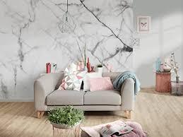 awallo fototapete motiv weißer marmor in schwarz weiß in