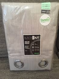 Blackout Curtain Liners Dunelm by Pair Of Blackout Curtains From Dunelm Mill Still In Packaging