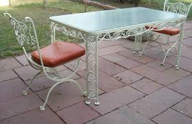Vintage Wrought Iron Patio Furniture Woodard by Woodard Andalusian Buy It Now On Ebay 399 00 Vintage Wrought