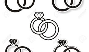 Clipart Black And White Ring Collection