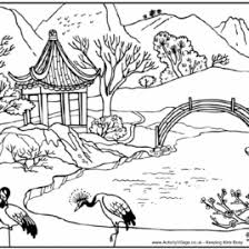 Landscape Coloring Pages For Adults AZ