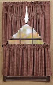 Tier Curtains 24 Inch by Curtains Valances Etc The Weed Patch