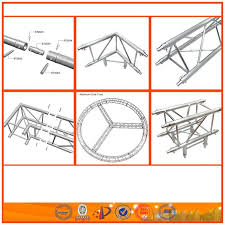 china maunfacture aluminum truss material portable display stand
