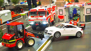 100 Rc Model Trucks Great Scale Tractors Dozer Fire Rescue