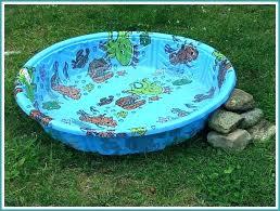 Hard Plastic Kiddie Pool With Slide Die Wading Large Toddler