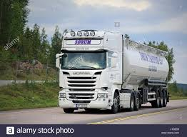 ORIVESI, FINLAND - SEPTEMBER 1, 2016: White Scania R580 Semi Tank ... Ngulu Bulk Carriers Home Transportbulk Cartage Winstone Aggregates Stephenson Transport Limited Typical Clean Shiny American Kenworth Truck Bulk Liquid Freight Cemex Logistics Cement Powder Transport Via Articulated Salo Finland July 23 2017 Purple Scania R500 Tank For Dry Trucking Underwood Weld Food January 5 White R580 March 4 Blue Large Green Truck Separate Trailer Transportation Stock Drive Products Equipment