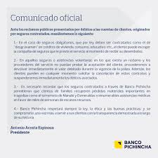 Banco Pichinchas Tweet