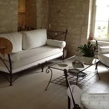 canapé d intérieur en fer forgé modèle romana fabrication