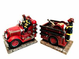 Vanmark Red Hats Of Courage Fire Truck Firefighter Bookends ... Fireman Wall Sticker Red Fire Engine Decal Boys Nursery Home Firetruck Childrens Wallums Truck Firefighter Vinyl Bedroom Stickerssmuraldecor Really Remarkable Fun Kids Bed Designs And Other Function Amazoncom New Fire Trucks Wall Decals Stickers Firemen Ladder Patent Print Decor Gift Pj Lamp First Responders 5 Solid Wood City New Red Pickup Metal Farmhouse Rustic Decor Vintage Style Fire Truck Ideas And Birthday Decoration Astounding Dalmation Name Crazy Art Remodel Etsy