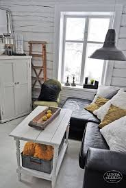 Living Room Design Ideas Leather Sofa Small Rustic Rooms