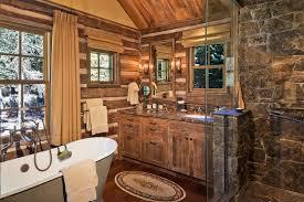 45 Rustic And Log Cabin Bathroom Decor Ideas 2017 Wall