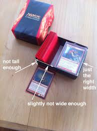 magic edh deck box commander 2014 boxes were almost a commander deck box edh