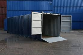 Shipping Containers With Ramp Access Modifications
